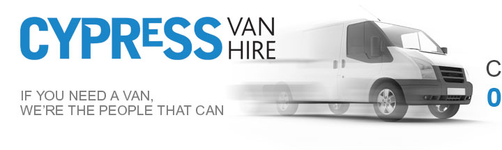 Cypress van hire