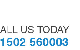 call us today 01502 560003