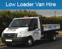 Low Loader Van hire